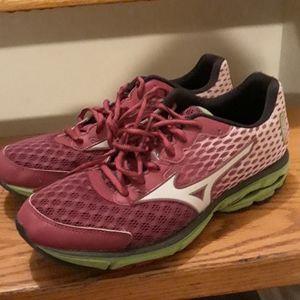 Mizuno running shoes Waverider 18 sz.9